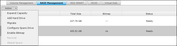 how to add disk in existing raid 1 volume